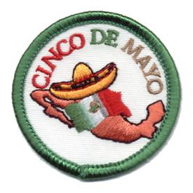 S-0876 Cinco De Mayo Patch