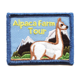 S-0878 Alpaca Farm Tour Patch