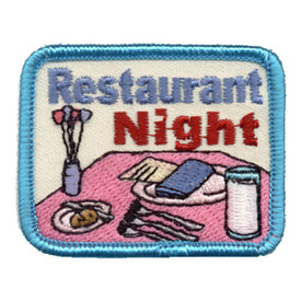 S-0881 Restaurant Night Patch