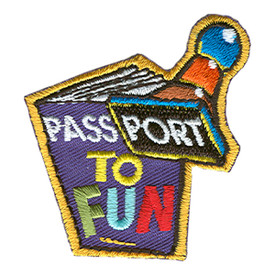 S-0883 Passport To Fun Patch