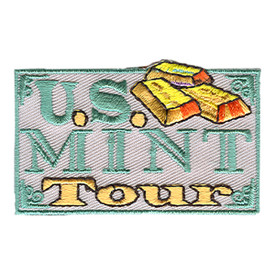 S-0885 U.S. Mint Tour Patch