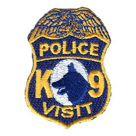S-0892 Police K-9 Visit Patch