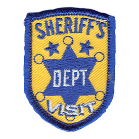 S-0893 Sheriff's Dept Visit Patch