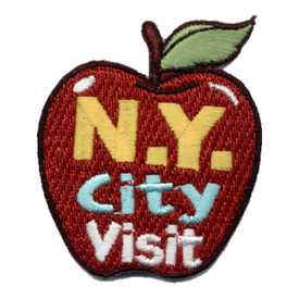 S-0910 N.Y. City Visit Patch