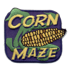 S-0924 Corn Maze (Ear Of Corn) Patch