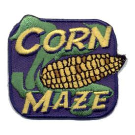 S-0924 Corn Maze (Ear Of Corn) Patch