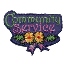 S-0929 Community Service Patch