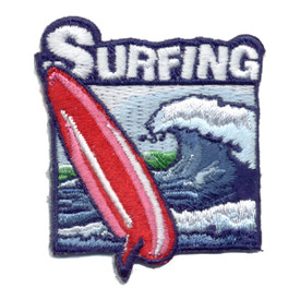 S-0948 Surfing Patch