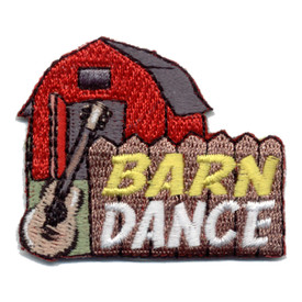 S-0952 Barn Dance (Red Barn) Patch