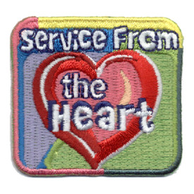 S-0958 Service From The Heart Patch