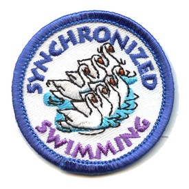 S-0959 Synchronized Swimming Patch
