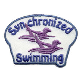 S-0964 Synchronized Swimming Patch