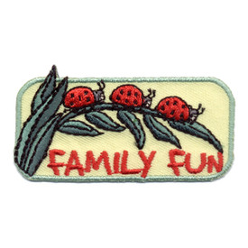 S-0970 Family Fun (Lady Bugs) Patch