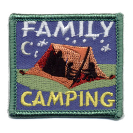 S-0971 Family Camping Patch