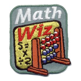 S-0980 Math Wiz Patch