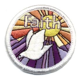 S-0985 Faith (Dove) Patch