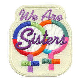 S-0987 We Are Sisters Patch