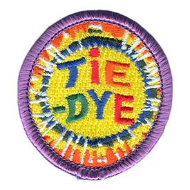 S-1023 Tie-Dye Circle Patch