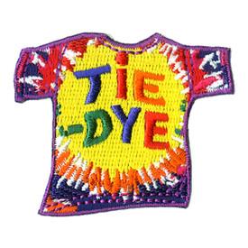 S-1025 Tie-Dye (T-Shirt) Patch