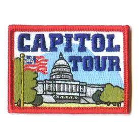 S-1028 Capitol Tour (Rectangle) Patch