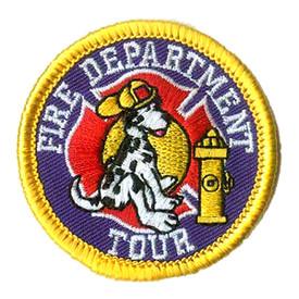 S-1029 Fire Department Tour Patch