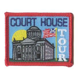 S-1033 Court House Tour Patch