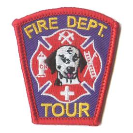S-1034 Fire Dept. Tour Patch