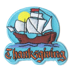 S-1036 Thanksgiving - Mayflower Patch