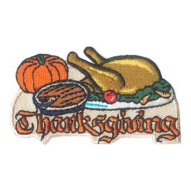 S-1038 Thanksgiving - Turkey Patch
