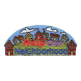 S-1047 Help Our Neighborhood Patch