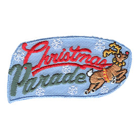 S-1054 Christmas Parade (Deer) Patch