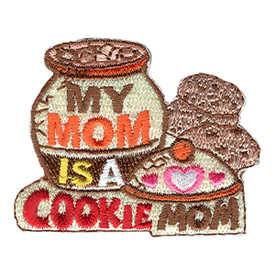 S-1056 My Mom Is A Cookie Mom Patch