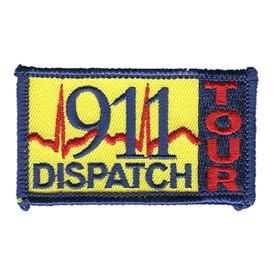 S-1065 911 Dispatch Tour Patch