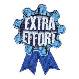 S-1068 Extra Effort (Ribbon) Patch