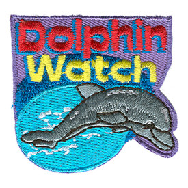 S-1077 Dolphin Watch Patch