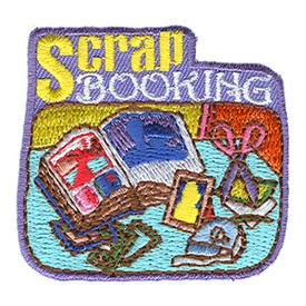 S-1078 Scrapbooking Patch