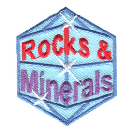 S-1100 Rocks & Minerals Patch