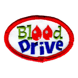 S-1101 Blood Drive Patch