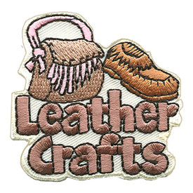 S-1112 Leather Crafts Patch