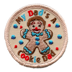 S-1121 My Dad's A Cookie Dad Patch