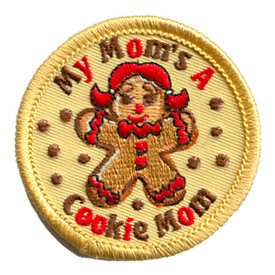 S-1122 My Mom's A Cookie Mom Patch