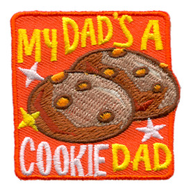 S-1123 My Dad's A Cookie Dad-Cookies