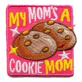 S-1124 My Mom's A Cookie Mom Patch