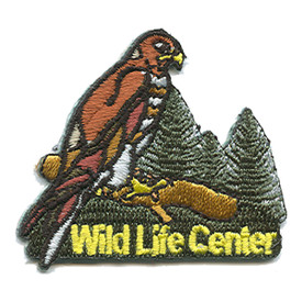 S-1141 Wild Life Center Patch