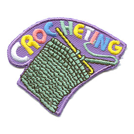 S-1144 Crocheting Patch