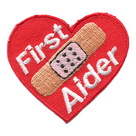 S-1149 First Aider (Heart) Patch