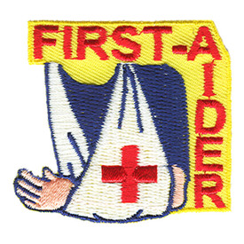 S-1153 First Aider (Sling) Patch