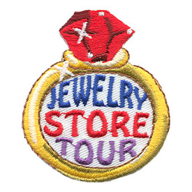 S-1157 Jewelry Store Tour Patch