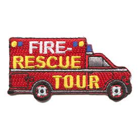 S-1163 Fire Rescue Tour Patch