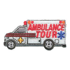 S-1164 Ambulance Tour Patch